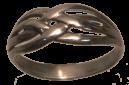 Bagues entrelacées Celte