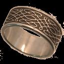 Anneau entrelacées Celte